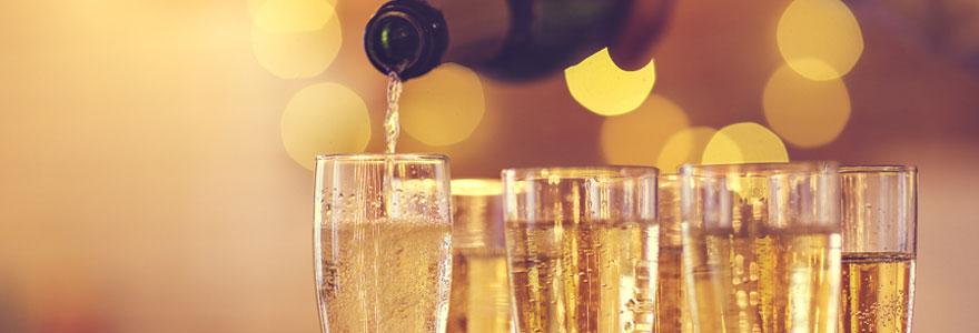Achat de vins et de champagnes sans alcool